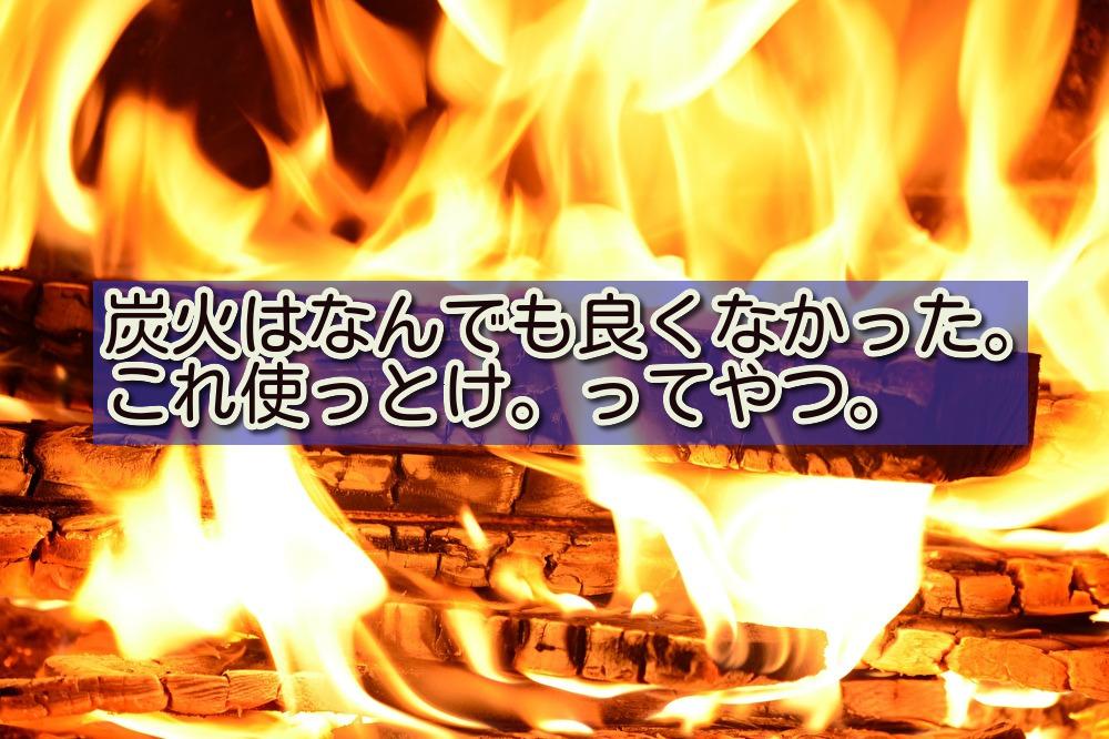 オガ備長炭 VS マングローブ炭(一番よく売ってる木炭)
