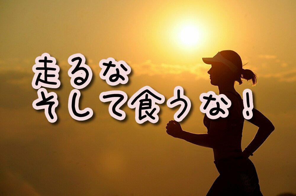 【ダイエット】痩せたかったら運動すんな、メシを抜け!