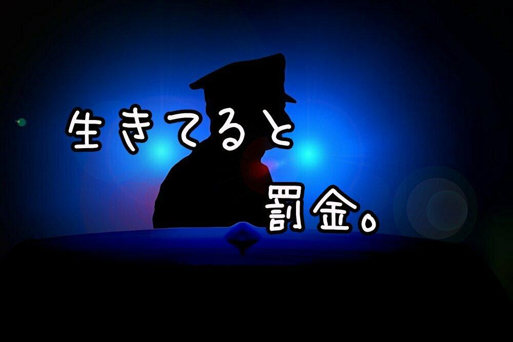 日本、生きてるだけで罰金多すぎる問題。